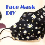 DIY Breathable Apple Mask New Design – No Fog On Glasses – Fabric face mask sewing tutorial