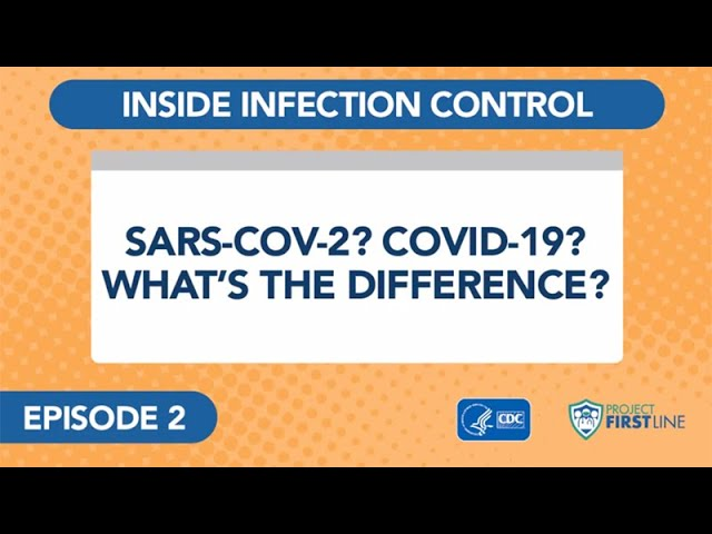 Episode 2: Sars-Cov-2? Covid-19? What's the Difference?